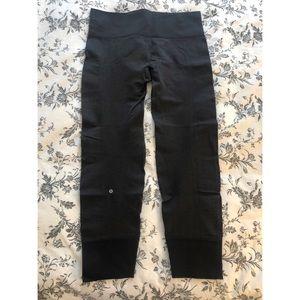 Lululemon leggings - dark grey size 8